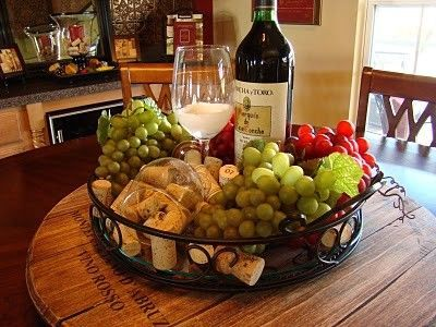 wine themed dining room ideas | decorations for wine party | wine tasting party ...