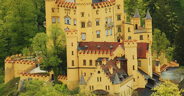 Hohenschwangau Castle, Bavaria, Germany -- although this clearly isn't Neuschwanstein, it is