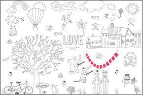 Set De Table A Colorier Par Les Enfants Organiser Un Mariage Coloriage Mariage Table Des Enfants Mariage Activites De Mariage Pour Enfants