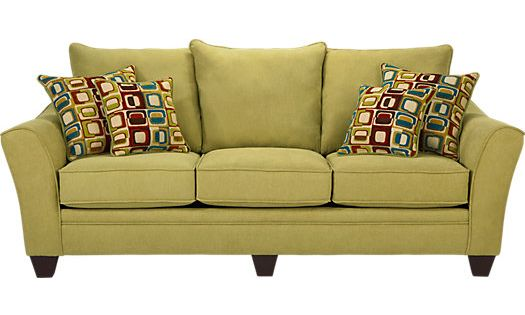 Shop For A Santa Monica Green Sofa At Rooms To Go Find Sofas That Will Look Great In Your Home