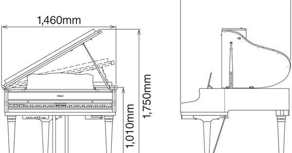 Grand Piano Dimensions And Diagram Google Search Piano