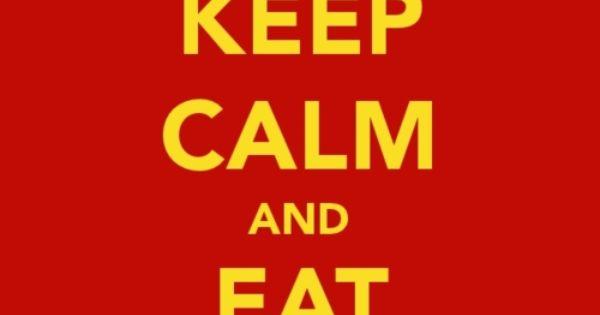 Alyssactndg Keep Calm Eat Fried Chicken: Keep Calm & Eat Empanadas!!