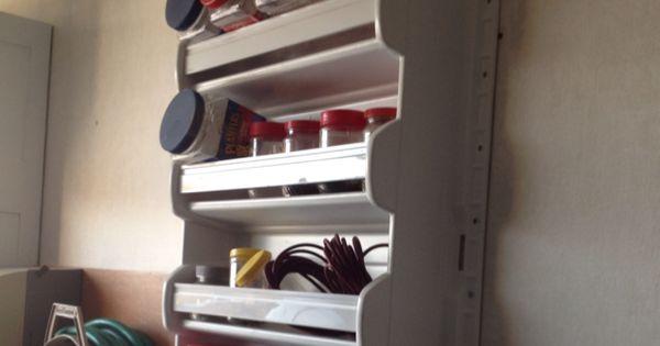 Old Refrigerator Door Made Into Hanging Wall Shelf My Dad