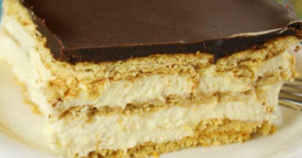 Easy Chocolate Eclair Cake Recipe | No Bake Chocolate Eclair Dessert Recipe