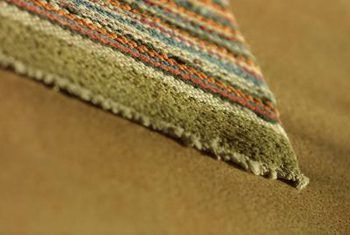 Repairing Ends That Are Coming Apart On An Area Rug Carpet