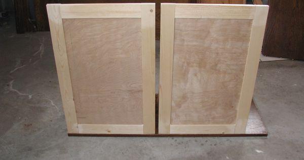 Making Cabinet Doors Using A Kreg Jig Diy Furniture Fix