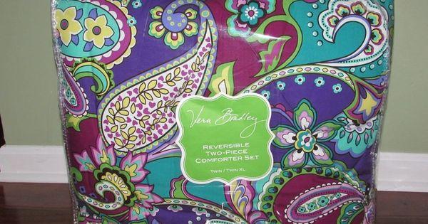 Vera Bradley HEATHER Reversible TWIN XL Comforter