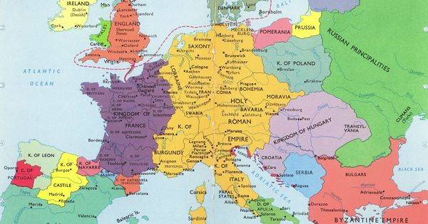 Map Of Europe 1100 Ad.Europe In 1100 Ad During The First Crusade I Think It S The Most