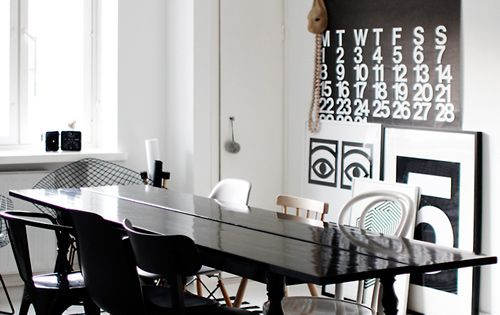 Furniture Dining Room Apartment Interior Design Helsinki Trends 2012 Ideas