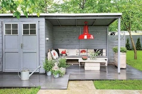 garden shed into a multiuse space