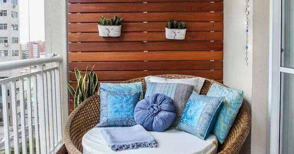 Cinco trucos para terrazas peque as no te los pierdas muebles pata la casa pinterest - Trucos para casas pequenas ...