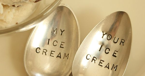Vintage Ice Cream Spoons - because there are some things we'd just