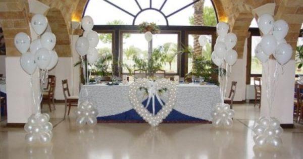 Espectaculares adornos con globos para boda originales for Adornos para boda civil