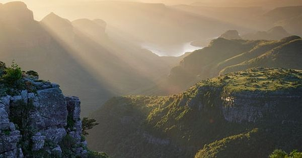 The Blyde River Canyon, South Africa. I've been here a few times.
