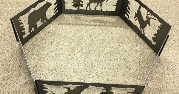Hexagon Fire Pit Made From Dxf Files Dxf Cnc Files
