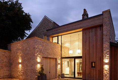 The Fosse, en Bath: una antigua villa se reinventa en una moderna