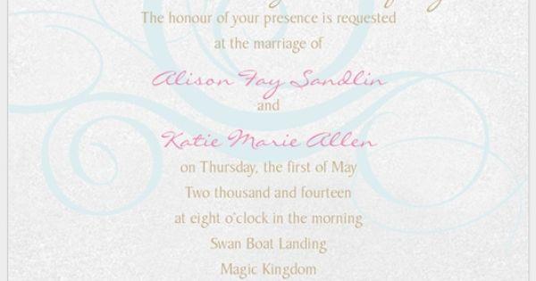 carriage invite mock up disney fairies wedding logos