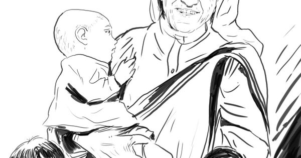 Bp Blogspot Com Mother Teresa With Children Coloring Page