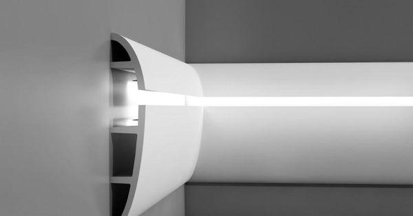 corniche moulure de plafond axxent orac decor pour eclairage indirect c374 moulures pour la. Black Bedroom Furniture Sets. Home Design Ideas
