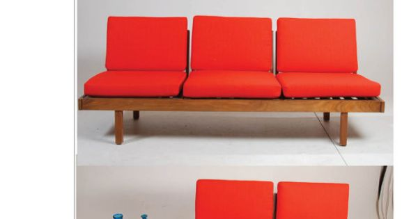 Mid century modern modular sofa by martin by retrogradela for Mid century modern prefab homes