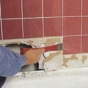 Saving A Soggy Shower Wall Diy Tile Shower Shower Tile Shower Wall