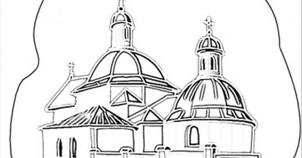 Coloring Pages Church In Kiev Countries Ukraine Free Printable Coloring Page Online Free Printable Coloring Pages Coloring Pages Printable Coloring Pages