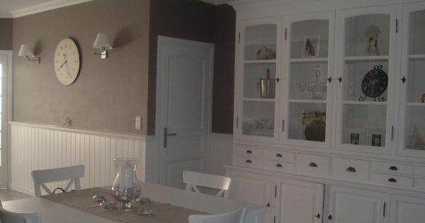 Belle d co salon taupe et lin taupe cuisine et belle for Belle deco salon