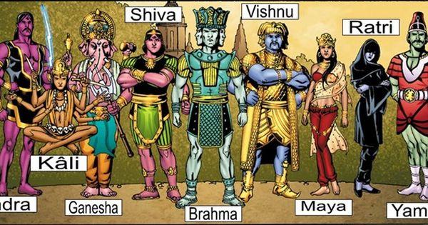 น ค อโฉมหน าเหล า เทพเจ า ตามตำนานของ 11 ชนชาต ในจ กรวาลมาร เวล Hindu Gods Comic Book Superheroes Ancient Mythology