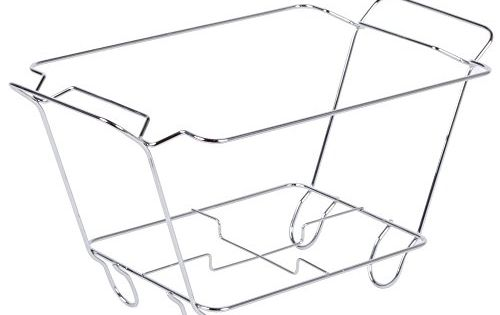 Chrome Wire Chafer Stand For 1 2 Size Disposable Pans Specialty Cookware Chrome Disposable