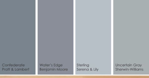 Cool colors w light floor paint picks. Warm up these cool hues