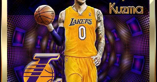 Nba Player Edit Kyle Kuzma Nba Players Kyle Kuzma Nba
