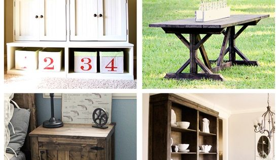#50 DIY Furniture Projects! Build your own furniture and save a TON