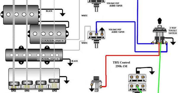 Jazz Bass Special wiring diagram Guitars Amps amp Gear