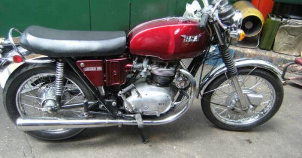Venturi Moto Custom Cafe Racer Bsa Motorcycle British Motorcycles
