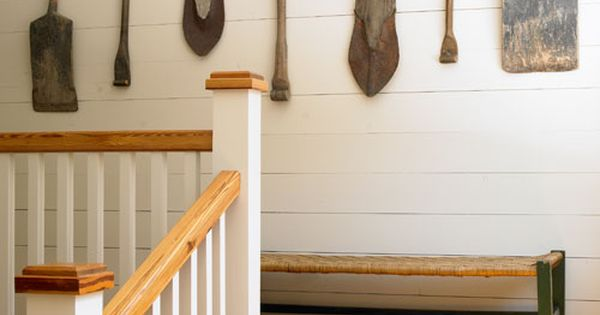 Home Decorating Ideas - Rustic Decor - Country Living...Love the plank walls