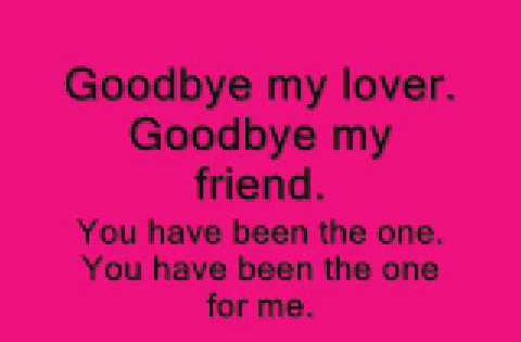 James Blunt Mit Songtext Goodbye My Lover