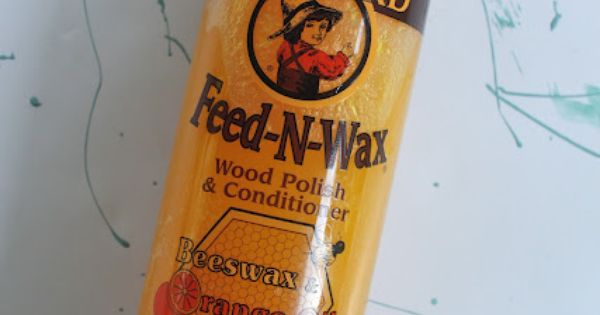 Furniture Rehab This Blogger Used Howards Feed N Wax
