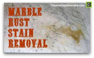 How To Get Rid Of Rust Stains On Stone