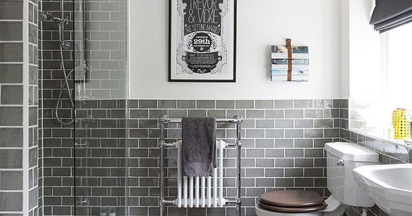 16 baños grises elegantes y modernos · 16 elegant and modern grey - baos con mosaicos