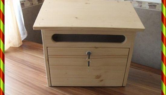 holzbriefkasten postkasten aus holz briefkasten von kewaholz auf briefkasten. Black Bedroom Furniture Sets. Home Design Ideas