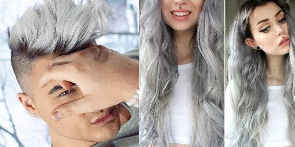How To Silver Black Roots For Men Women Grey Hair Black
