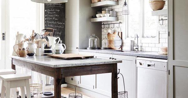 Quando il passato vive nel presente appartamento vintage for Enorme isola cucina