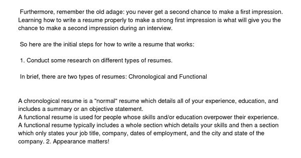 simple resume example how make cover write basic for job brilliant - how to write a resume title