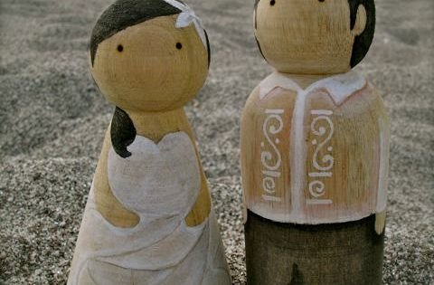 filipino wedding cake toppers custom wedding wooden cake toppers 14238