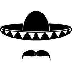 Sombrero Silhouette Pesquisa Google Sombrero Mexicano Dibujos De Sombreros Sombrero De Charro