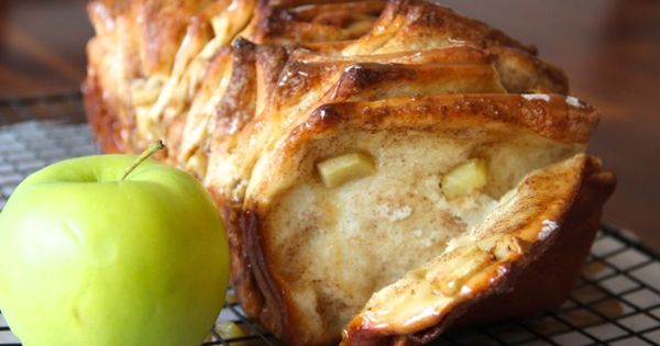 carmel apple bread for fall
