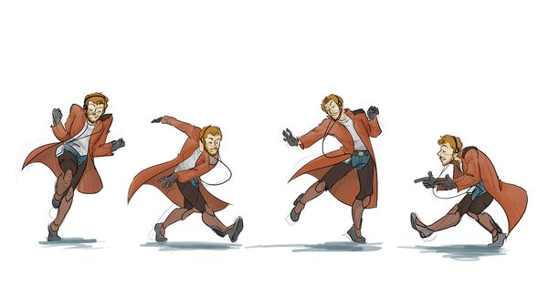 Ooga-Chaka: Awesome Fan Artworks of Star-Lord Jammin' Out
