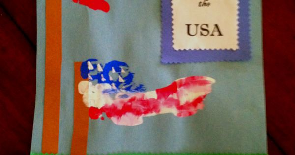 memorial day handprint craft