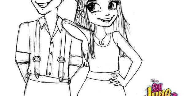 Boceto De Luna Y Matteo En La Competencia Intercontinental