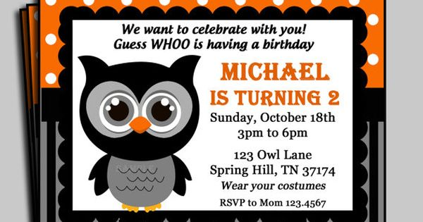 Halloween Invitaions was beautiful invitation layout